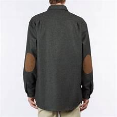 pendleton trail sleeve patch shirt blue green mix
