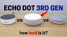 echo dot 3rd review mic speaker test vs 2nd