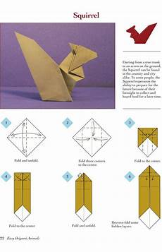 easy origami animals page 3 of 6 squirrel 1 of 2