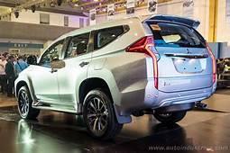 2016 Mitsubishi Montero Sport Makes Philippines Debut