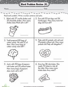 2nd grade math addition word problems worksheet addition and subtraction word problems 2nd grade math