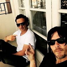 Norman Reedus Instagram - andrew lincoln if rick dies on the walking dead quot i m