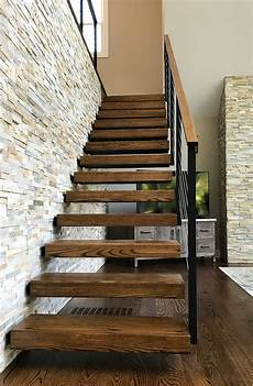 cantilevered stairs with cable railing shelton ct keuka studios