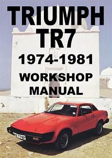 car service manuals pdf 1991 nissan 300zx parental controls triumph tr7 1975 1981 workshop manual manual repair manuals workshop