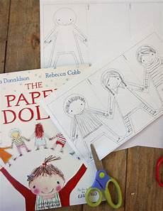 paper dolls donaldson worksheets 15674 so many activities for one children s author about here