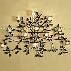 75cm metal wedding home office furniture decor wall pocket pillar artificial tree candle