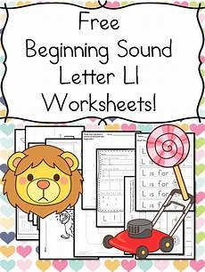 letter l worksheets cut and paste 23203 beginning sounds letter l worksheets free and