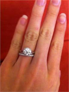 spacer between your engagement ring and wedding band purseforum
