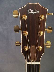 814ce Headstock With Gold Tuners And