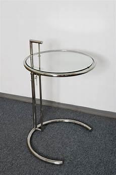 beistelltisch rund glas designer tisch beistelltisch rund chrom glas stylish