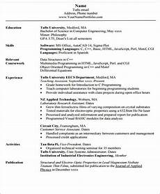 resume for enginering student format 20 engineering resume templates in pdf free premium templates