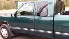 1998 chevy k1500 4x4 x cab green for sale