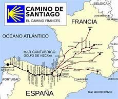 camino de santiago compostela file ruta camino de santiago frances svg