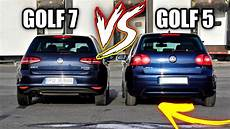 Am Facut Intrecere Golf 5 Stock Vs Golf 7