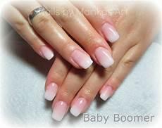 Gelnägel Bilder 2017 - nails by alea babyboomer nails modele de unghii