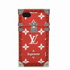 louis vuitton wallpaper iphone xs max louis vuitton x supreme monogram eye trunk iphone 7