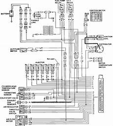 80 280zx harness pinout diagram i need the wiring schematic of the fuel system for a 1983280zx