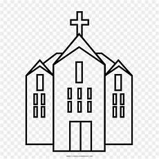 Buku Mewarnai Gambar Gereja Gambar Png