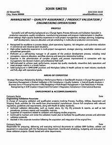 quality assurance manager resume template premium resume
