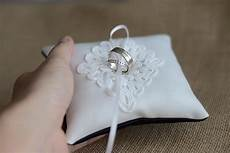 wedding ring pillow ring bearer pillow black and white ring cushion made from heavy matte