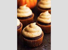 chocolate pumpkin cake and cupcakes_image