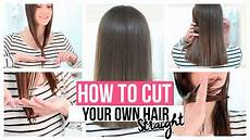 How To Cut My Own Hair Style