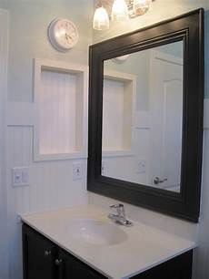 bathroom mirror makeover for the home pinterest
