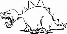 Lustige Dino Ausmalbilder Der Lustige Saurier