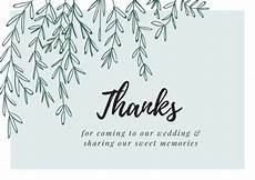 thank you card template for comming to event printable wedding thank you cards thank you note wording