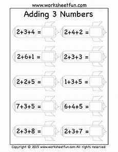 addition worksheets class 3 8805 free three addend worksheets adding 3 numbers rockets math addition worksheets grade