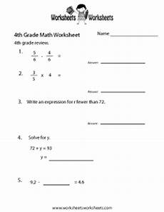 4th grade math worksheets free printable worksheets for teachers and kids