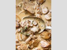 creamy chicken and mushroom fettuccini_image