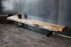 meuble bois brut design meuble tv bois massif m 233 tal bois style industriel
