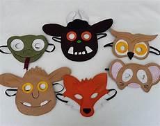 worksheets for toddlers 18182 gruffalo inspiriert f 252 hlte maske kost 252 m f 252 r kinder fasching basteln mit kindern masken