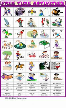exercises y and en 19133 free time activities matching ex apprendre l anglais cours anglais et fle