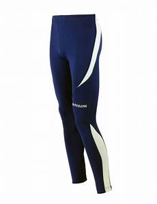 winter funktions laufhose pro lang blau l thermo