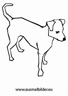 Ausmalbilder Hunde Pudel Ausmalbild Aufmerksamer Hund Zum Ausdrucken