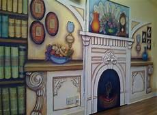 Nursing Home Decor Ideas by Alzheimer Secure Unit Nursing Retirement Home Mural