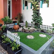 Desain Taman Depan Rumah Luas Jasa Taman Jogja Jasa
