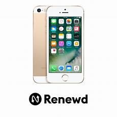 telefon mobil apple renewd iphone se 64gb gold pret