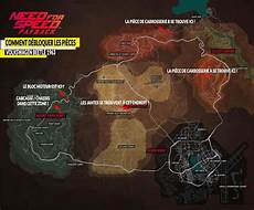 Guide Need For Speed Payback Ou Sont Les Morceaux D 233 Paves