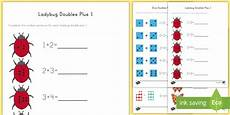doubles plus one with pictures worksheets doubles near