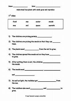 worksheets plants and seeds 13503 seeds plant growth and reproduction lesson plan and worksheet tpt