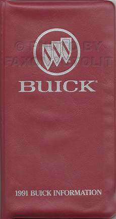 free auto repair manuals 1991 buick riviera free book repair manuals 1991 buick riviera reatta repair shop manual original