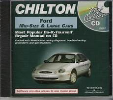 old cars and repair manuals free 1999 ford escort spare parts catalogs 1983 1999 ford mid full size cars chilton repair manual on cd rom