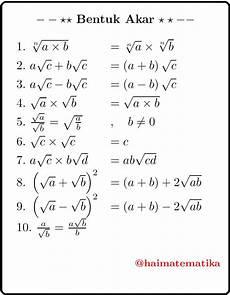 Contoh Soal Merasionalkan Bentuk Akar Kelas 9 Contoh