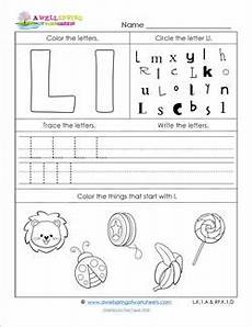 letter l worksheets cut and paste 23203 abc worksheets letter l alphabet worksheets a wellspring