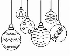 ornament coloring pages printable simple for