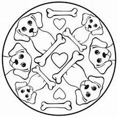 Malvorlage Hund Mandala Malvorlagen Zum Ausmalen Malvorlagen Hunde Hunde Mandala