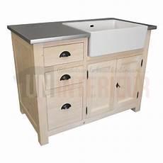 meuble d evier meuble 233 vier 3 tiroirs avec 233 vier inclus en pin massif